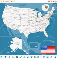 Deleware Flag United States Usa Map Flag Navigation Labels Roads