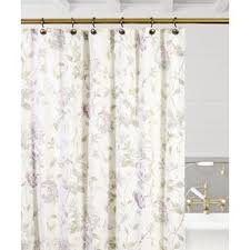 Hydrangea Bathroom Accessories by Purple Shower Curtains You U0027ll Love Wayfair