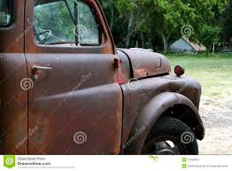 rusty pickup truck old rusty farm pickup truck stock image image of abandon broken