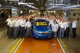 vauxhall insignia wagon opel insignia reaches production milestone the 750 000th unit is