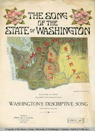 State Of Washington Map by A Ballot For The Lady Washington Women U0027s Struggle For The Vote