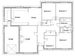architectural design floor plans 4 bedroom bungalow architectural design 3 x 2 house plans best of