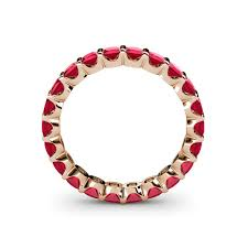 ruby band clarissa 3 00 mm ruby eternity band ruby common channel set