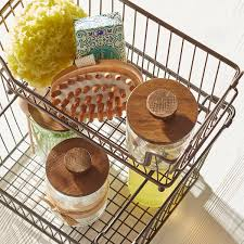large basket large bronze york open stackable basket the
