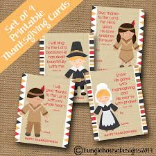 thanksgiving scripture cards for pilgrim and indian
