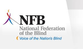Magazines For The Blind National Federation Of The Blind Logo And Tagline Voice Of The