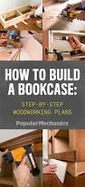 Building Wood Bookcases by To Build A Bookcase Step By Step Woodworking Plans