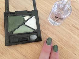how to how hard and how much eyeshadow nail polish