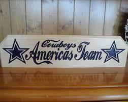 Dallas Cowboys Home Decor Dallas Cowboys Signs Etsy