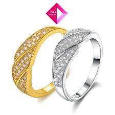2014 new arrive 18k platinum diamond ring three sections of