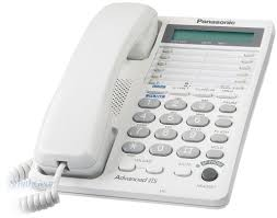panasonic kx ts208w 2 line feature phone w lcd white