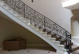 Iron Banister Rails Iron Staircase Railing Orange County Ca Ornamental Iron