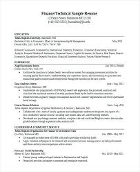 data analysis sample resume data analyst resume example data