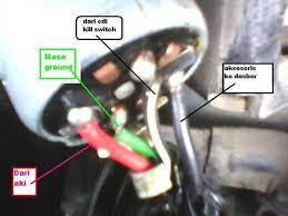 hidupkan motor honda c series tanpa kunci kontak otosia