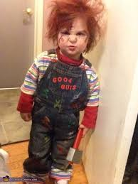 Baby Toddler Boy Group Costumes Guy Chucky Costume