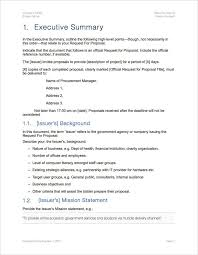 request for proposal rfp template apple iwork pages and numbers
