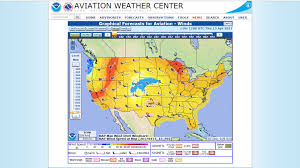 Mexico Weather Map by Pilot Weather Briefing Services Aopa