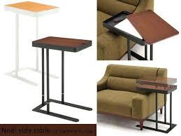 Bedside Laptop Desk Side Table Adjustable Portable Sofa Bed Side Table Laptop Desk