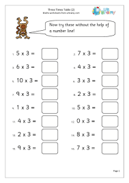 ideas about 3 times table worksheet bridal catalog