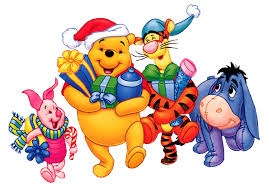 Winnie The Pooh Christmas Tree Decorations Pooh Christmas Clipart Clipart Collection Piglet Decorating