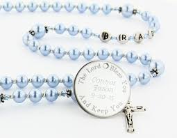 baptism engraved gifts 14 best baptism rosaries images on baptism gifts