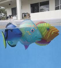 swimways rainbow reef magic action mini trigger fish at swimoutlet com