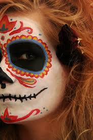u0026chloe halloween day of the dead makeup