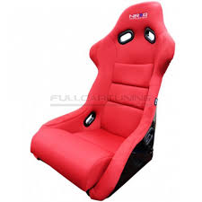 siege baquet nrg innovations siege baquet seats suede fabric fullcartuning