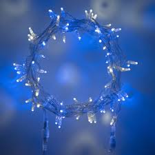blue white christmas lights blue and white christmas lights lights4fun co uk