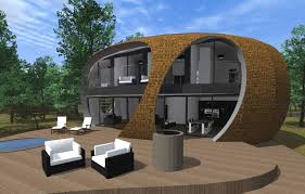 Small Eco Houses Architecture Elegant Eco Friendly Cube House With Awesome Garden