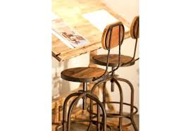 dossier de chaise tabouret industriel reglable tabouret de bar metal industriel chaise