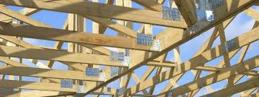 prefabricated roof trusses wooden roof framing truss prefab mitek industries ltd