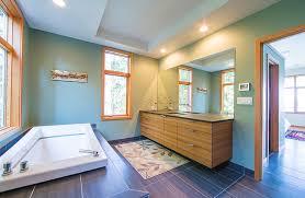 floating bamboo bathroom vanity