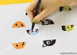 halloween monsters paper rings easy peasy and fun