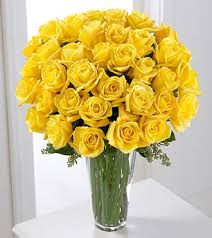 3 dozen roses yellow bouquet 3 dozen royal fleur florist larkspur ca