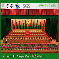 Black Stage Curtains For Sale Motorized Retractable Stage Curtain Motorized Retractable Stage