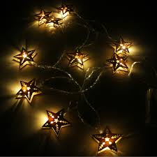 led garland christmas lights aliexpress com buy 2 5m battery led wood star fairy lights string