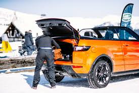 land rover track test drive the 2017 range rover evoque convertible cool hunting