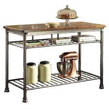 the orleans kitchen island home styles orleans wire rack kitchen island with caramel butcher
