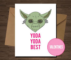 yoda valentines card 20 hilarious etsy s day cards you to buy for your