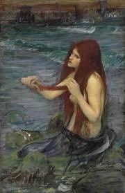 file john william waterhouse a mermaid sketch jpg wikimedia