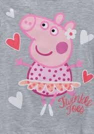 superman peppa pig and other toddler peppa pig twinkle toes long sleeve shirt