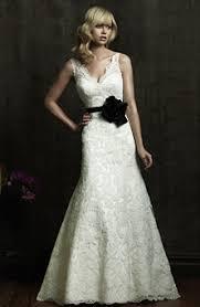 lace v neck wedding dress weddingbee