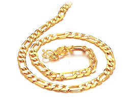 best gold chain necklace images Oval cutout link gold chain sakhigold jpg