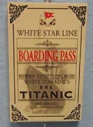 check out this wood titanic ornament it features the official