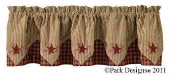 Park Design Valances Bj U0027s Country Charm Sturbridge Wine Shower Curtain Primitive