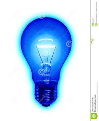 blue free light bulbs blue light bulb stock image image of power electricity 4971277