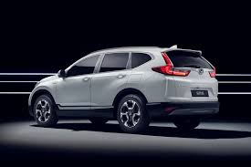 onda cvr hybridised honda suv new cr v hybrid prototype hits frankfurt by