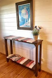 Pallet Console Table Heart Touching Creations With Old Shipping Wood Pallets Pallet