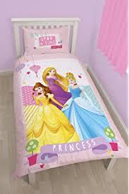 Princess Duvet Cover Childrens Kids Disney Princess Bedding Duvet Cover Set Single Bed